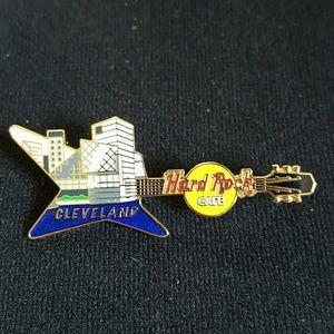 Cleveland Hard Rock Cafe guitar pin